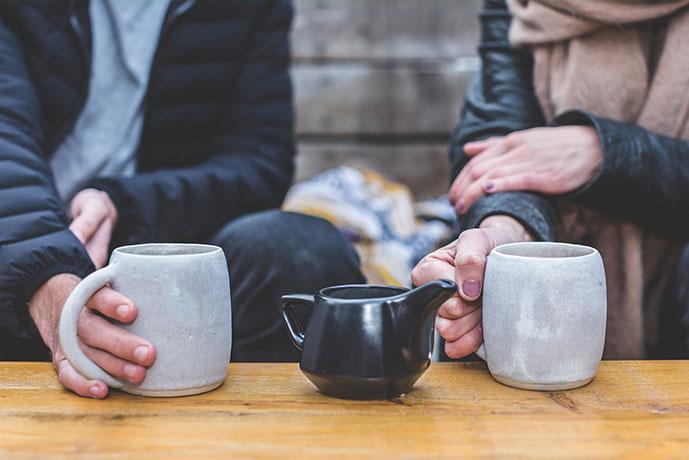 Menschen, CGM, Tea, Talk, Coffee, Kaffee